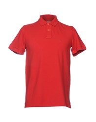 Cooperativa Pescatori Posillipo Polo Shirts Red