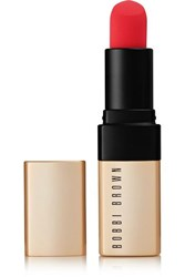 Bobbi Brown Luxe Matte Lip Color On Fire Red