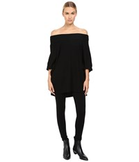 Limi Feu Off Shoulder Dolman Tee Black