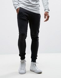 Only And Sons Super Skinny Jogger Black