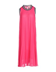 Marani Jeans Dresses Knee Length Dresses Women Fuchsia