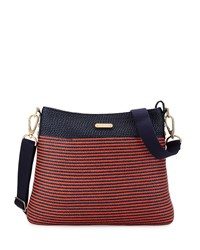 Escape Pouch Crossbody Bag Flame Navy Eric Javits