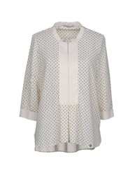 Yes Zee By Essenza Blouses Ivory