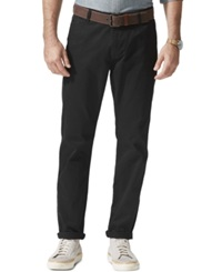 Dockers Slim Fit Alpha Khaki Pants Black