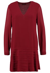 Sisley Summer Dress Bordeaux