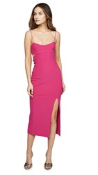 Bec And Bridge Amelie Midi Dress Magenta