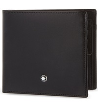 Montblanc Meisterstuck 4 Credit Card Wallet With Coin Purse