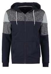 New Look Tracksuit Top Navy Dark Blue