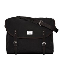 Sandqvist Black Erik Messenger Bag