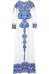 Emilio Pucci Embroidered Silk Cady Kaftan
