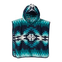 Pendleton Jacquard Hooded Children's Towel Papago Park Turquoise