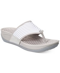 Bare Traps Dasie Outdoor Sandals Women's Shoes Taupe Striped Multi