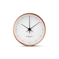 Georg Jensen Henning Koppel Clock Copper White 15Cm