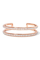 Anita Ko 18 Karat Rose Gold Diamond Cuff