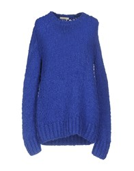 Celine Sweaters Bright Blue