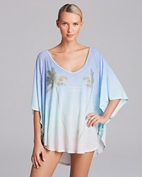 Wildfox Couture Wildfox Vacation Forever Butterfly Swim Cover Up Tunic Multi