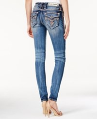Rock Revival Jayla Wash Sequined Skinny Jeans