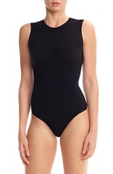 Commando Ballet Body Crewneck Bodysuit Black