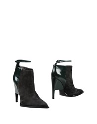 John Galliano Ankle Boots Lead