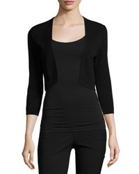 Theory Amarissa Prosecco Shrug Cardigan Black