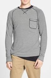 Volcom 'Standard' Trim Fit Crewneck Sweater Black