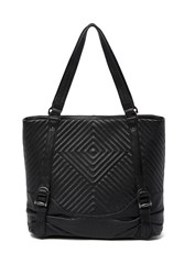 Vince Camuto Tave Quilted Leather Hobo Bag Noir 01