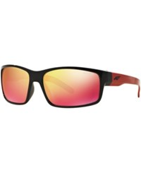 Arnette Sunglasses An4202 Fastball Black Red Mirror
