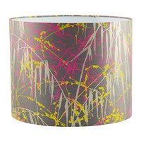 Clarissa Hulse Three Grasses Lamp Shade Storm Neon Sulphur