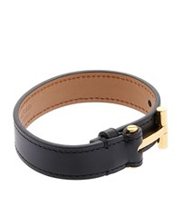 Tom Ford T Clasp Bracelet Black