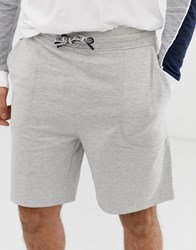 Only And Sons Boxy Jersey Shorts Grey