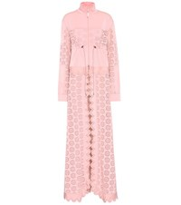 Fenty By Rihanna Embroidered Jacket And Coat Pink