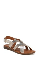 Franco Sarto By Galavant Sandal Platino Faux Leather