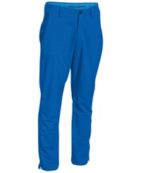 Under Armour Men's Match Play Tapered Golf Pants Electric Blue