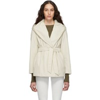 Max Mara Off White Cantore Jacket