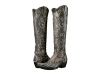 Old Gringo Dolce Stitch Bone Grey Cowboy Boots White