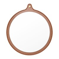 Normann Copenhagen Tivoli Ticket Mirror Small Caramel
