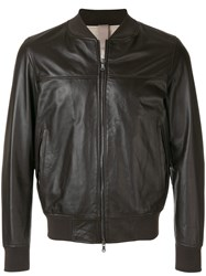 Orciani Bomber Jacket Brown