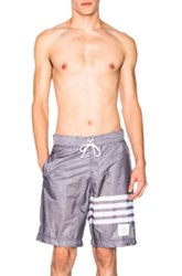 Thom Browne Board Shorts In Gray