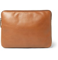 Shinola Full Grain Leather Portfolio Tan