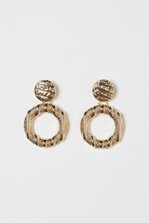 Handm H M Earrings Gold