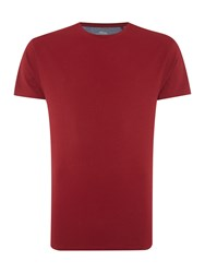 Linea Jaguar Crew Neck T Shirt Red