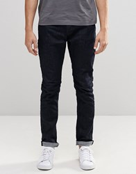 Only And Sons Indigo Slim Fit Jeans With Stretch Indigo Blue