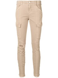 J Brand Houlihan Jeans Nude And Neutrals