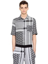 Mcq By Alexander Mcqueen Razorblade Cotton And Linen Shirt