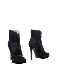 Icone Ankle Boots Dark Blue