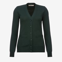 Bally Knitted Cardigan Green Jaguar