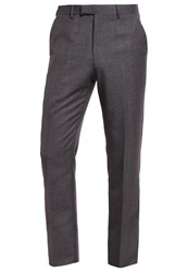 Reiss Severinos Trousers Charcoal Grey