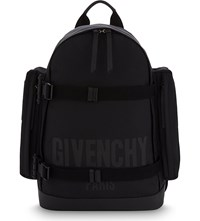 Givenchy Military Canvas Backpack Black