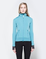 Adidas By Stella Mccartney Climaheat Fleece Harbour Blue
