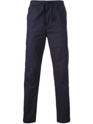 Folk Straigh Fit Trousers Blue